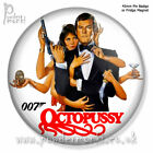 JAMES BOND: OCTOPUSSY ~ Retro Movie Badge/Magnet [45mm] Roger Moore £1.69 GBP on eBay