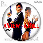 JAMES BOND: A VIEW TO A KILL ~ Retro Movie Badge/Magnet [45mm] Roger Moore £1.59 GBP on eBay