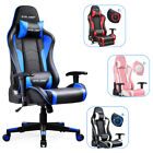 GTRACING Gaming Chair with Bluetooth Speakers Music Video Game Chair PU Leather