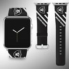 Oakland Raiders Apple Watch Band 38 40 42 44 mm Fabric Leather Strap 1 on eBay