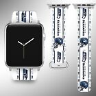 Seattle Seahawks Apple Watch Band 38 40 42 44 mm Fabric Leather Strap 1 on eBay