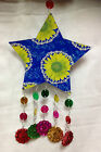 Fairtrade Hanging Party/Garland/Christmas Decoration Star/Heart/Hand/Elephant
