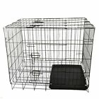 Puppy Pet Dog Cages Crate Foldable Carrier Transport Small Medium Large XLBUY