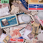 Внешний вид - Label  Paper Sticker Vintage Stamp Stickers Scrapbooking    Retro Matchbox