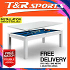 【NEW YEAR SALE】7FT MDF Pool Table / Dining Table Living Gaming Room Furniture $683.99 AUD on eBay