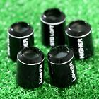 5X Plastic Golf Sleeve Ferrules/CapsReplacement for Taylormade SLDR R15 M1 Shaft