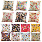 Floral French Country Throw Pillow Cover Case Sofa Couch Car Home Bedroom Decor