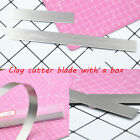 Tools Modeling DIY Craft Clay Cutter Blade Stainless Steel Polymer Fimo Slicer image