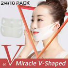 Wrinkle Chin Neck Line Cheek Lift Up Slim Miracle V-Shaped Slimming Mask-Beauty image