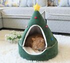 New Tree Shape Pet Dog Cat House Bed Tent Cushion Mat Removable Christams Bed