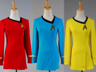 Star Trek TNG Female Duty Cosplay Costume Uniform Halloween 3 Colors Dress Party on eBay