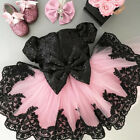 Toddler Kid Baby Girl Floral Dress Princess Party Pageant Lace Tutu Mesh Dresses