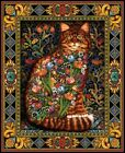 Tapestry Cat - Chart Counted Cross Stitch Patterns Needlework DIY DMC