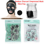 Black Natural Bamboo Charcoal Face Care Compressed Mask Skin Care Beauty Makeup