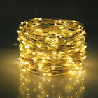 200LED Solar String Lights Waterproof 10/20M Copper Wire Fairy Outdoor Garden UK