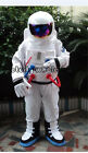 Spaceman Astronaut Mascot Costume Suit Parade Halloween kids&Adults Party Dress