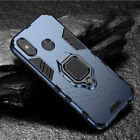 For Xiaomi Redmi Note 6 7 Pro, Hybrid Magnetic Kickstand Ring Holder Case Cover