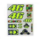 VR46 Original Stickers Large and Small