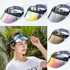 Unisex Adjustable Visor Sun Hat UV Protection Casino Poker Sports Cap Golf AU
