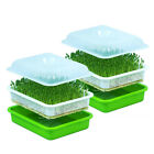 2pc Seed Sprouter Tray Soil-Free PP BPA Free Big Capacity Soybean Sprouting Kit