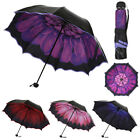 1* Hot Parasol Folding Rain Windproof Umbrella Folding Anti-UV Sun/Rain Umbrella for sale  Canada