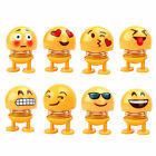Car Emoji Ornament Shake Head Doll Home Desktop Decoration Accessories