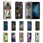 For FOXX Miro / FOXXD Miro L590 Slim Fitted Grooved Lines Hard Shell Hybrid Case