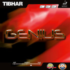 Tibhar Genius Table Tennis and Ping Pong Rubber, Choose Your Color and Thickness