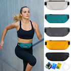 Waterproof Sport Runner Waist Bum Bag Running Jogging Belt Pouch Zip Fanny Pack image