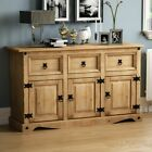 Corona Solid Mexican Pine Bedroom Living Dining Room Rustic Waxed Furniture