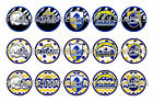 "NFL San Diego Chargers Zebra PRE CUTS or DIGITAL SHEET 1"" Circle Bottle Caps $2.0 USD on eBay"