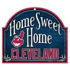 Cleveland Indians Arched Home Sweet Home Wood Sign [NEW] MLB Plaque Banner Cave on Ebay