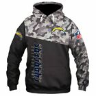 LOS ANGELES CHARGERS Hoodie Hooded Pullover S-5XL Football Team 2019 NEW DESIGN $48.99 USD on eBay