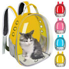 Pet Cat Astronaut Backpack Space Capsule Breathable Outdoor Kitten Carrier Bag