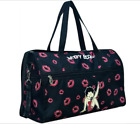 "Betty Boop Duffle Canvas kick Shoulder L 19"" Travel Overnight Bag Sport $23.99 USD on eBay"