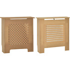 Radiator Cover Unfinished Modern Traditional Heat Guard Wood MDF Grill Small