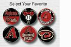 "Arizona Diamondbacks Buttons 1.25"" MLB Team Hat T-Shirt Jersey Pins Badge Patch on Ebay"