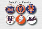 "NY Mets Buttons 1.25"" Baseball Hat T-Shirt Jersey Pins Badge Patch Logo New York on Ebay"