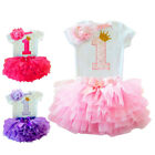 Kyпить My Little Girl Baby 1st Birthday Dress Outfits Infant Party Clothing Sets 12 M на еВаy.соm