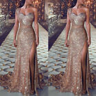Sexy Women Wedding Cocktail Formal Prom Evening Party Long Maxi Dress Ball Gown