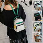 Convertible Faux Leather Small Mini Backpack Rucksack Shoulder Bag Purse Travel
