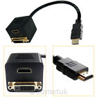 HDMI To DVI-D Cable Computer PC Laptop to TV DVD TFT LCD Male Lead Gold 1M - 10M