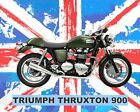 TRIUMPH THRUXTON MOTORCYCLE MOTORBIKE METAL SIGN TIN PLAQUE OTHERS LISTED 637 £6.99 GBP on eBay