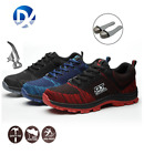Da Uomo Ultra Lightweight Steel Toe Cap sicurezza lavoro sneakers stivali IT CC
