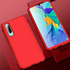 For Huawei P Smart 2019/ P30 P20 Lite Pro 360° Full Case Cover + Tempered Glass