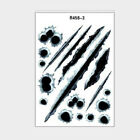 3D Bullet Holes Car Sticker Scratch Decal Waterproof Car Stickers Self-adhesive