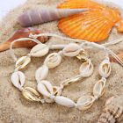 Vintage Shell Necklace Cowrie Choker  Seashell Conch  Summer Beach  Jewelry