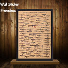 War Ii Tank Home Decor Kraft Paper Vintage Posters Wall Sticker Famous Rifles
