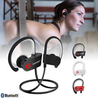 Wireless Bluetooth Headphones Earbuds Waterproof Sport Headset In Ear with Mic