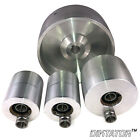 "Belt Grinder 2x72 wheel set knife grinder 5"" Drive wheel, 3"" track 2"" Idlers"